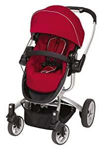 Teutonia T-Linx Stroller, Venetian Red (Discontinued by Manufacturer)