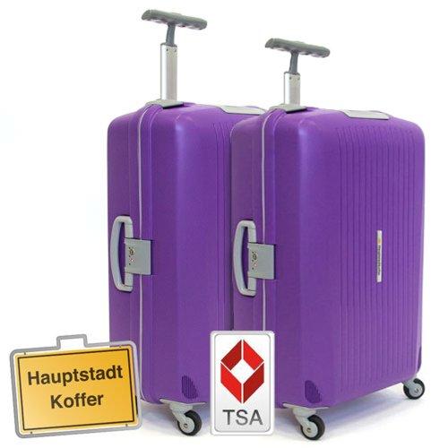 Hauptstadtkoffer 2er Set (87Liter,87Liter) Hartschalenkofferset,Kofferset,Trolleyset,Reisekofferset,Farbe