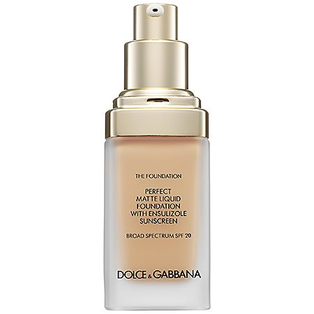 Dolce & Gabbana The Foundation Perfect Matte Liquid Foundation Broad Spectrum SPF 20 Natural Glow
