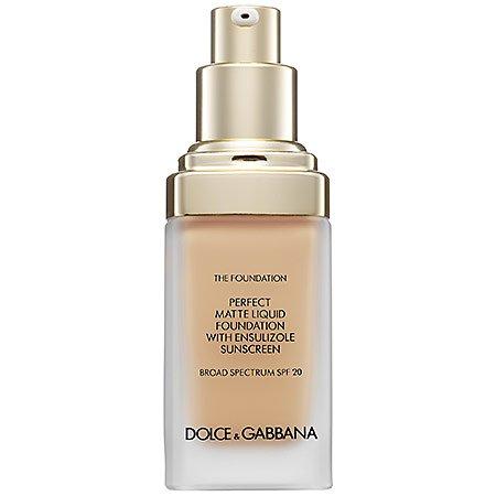 Dolce & Gabbana The Foundation Perfect Matte Liquid Foundation Broad Spectrum SPF 20 Natural Glow
