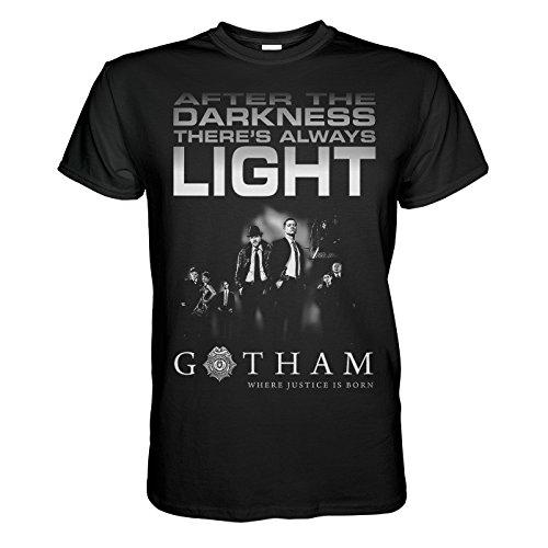 King of Merch - T - shirt per gli uomini - Gotham After Darkness 2XL