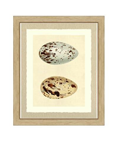Art Source Neutral Double Egg Print I, Multi