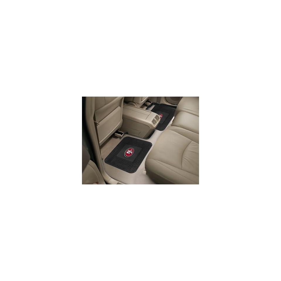 NFL   San Francisco 49ers Backseat Utility Mats 2 Pack