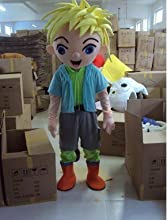 red red shop Mascot Costume Adult Character Costume Mascot As Fashion Free Shipping Cosplay Blond Bo