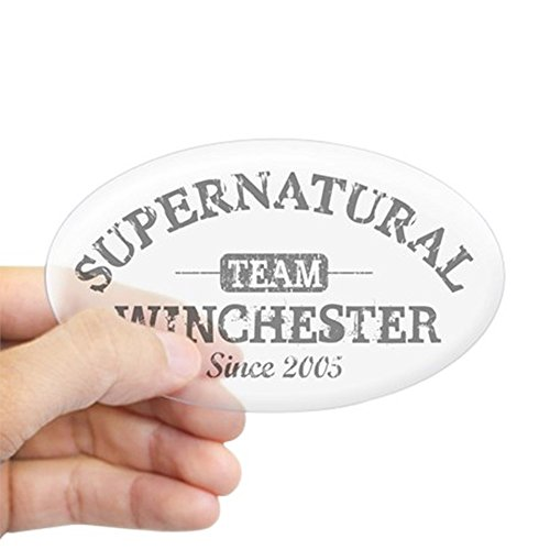 cafepress-supernatural-team-winchester-gray-sticker-oval-oval-bumper-sticker-car-decal