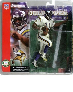 Sports Picks NFL Series 2 Daunte Culpepper White Jersey by McFarlane Toys