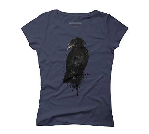 Design By Humans - Top - Donna blu navy XX-Large