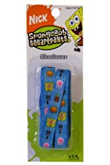 Nickelodeon Spongebob Squarepants Shoe Laces - Blue Color