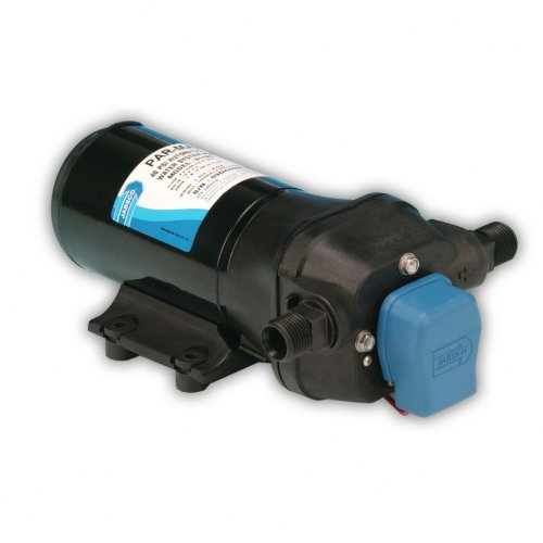 Jabsco 31620-0294 Marine ParMax 4 Low Pressure Water System Pump (4.3-GPM, 25-PSI, 24-Volt, 7-Amp, Up to 4 Outlets)