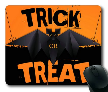Sakuraelieechyan Halloween Trick Or Treat-2 Rectangle Mouse Pad front-81492