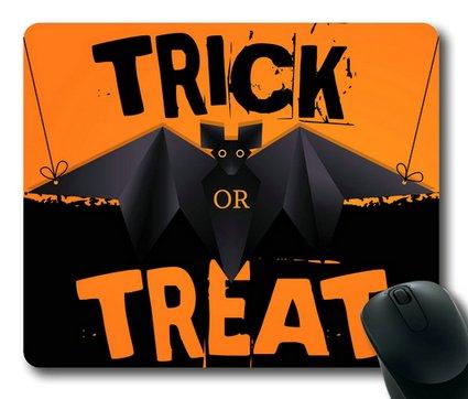 Sakuraelieechyan Halloween Trick Or Treat-2 Rectangle Mouse Pad