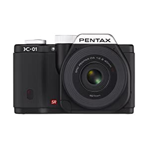 Pentax K-01 16MP APS-C CMOS Compact System Camera [Body] (Black)