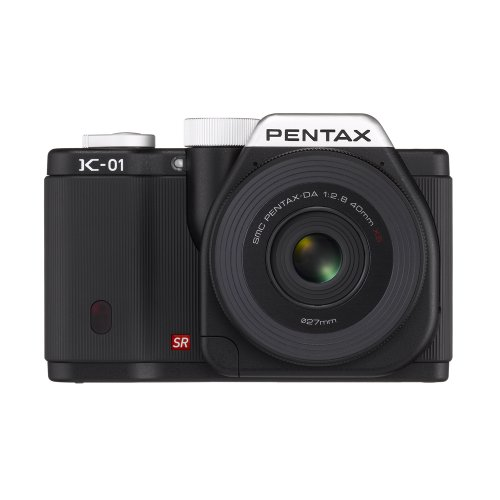Buy Discount Pentax K-01 16MP APS-C CMOS Compact System Camera Kit with DA 40mm Lens (Black)
