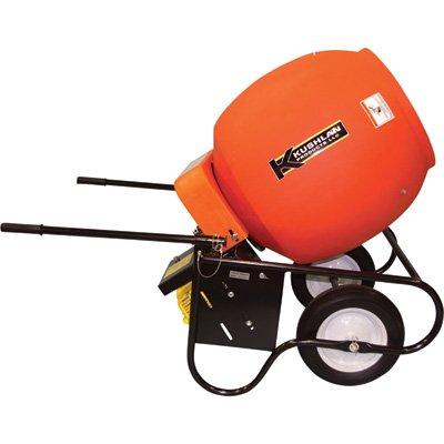 Kushlan 6 Cubic Ft. Drum Portable Gas-Powered Concrete Mixer, Model# 600 Gas