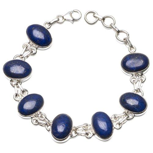 stargems-tm-naturale-lapislazzuli-braccialetto-in-argento-sterling-925-7-7-3-4-