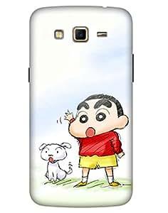 Bikzone Back Cover For Samsung Galaxy Grand 2 (Multicolor)