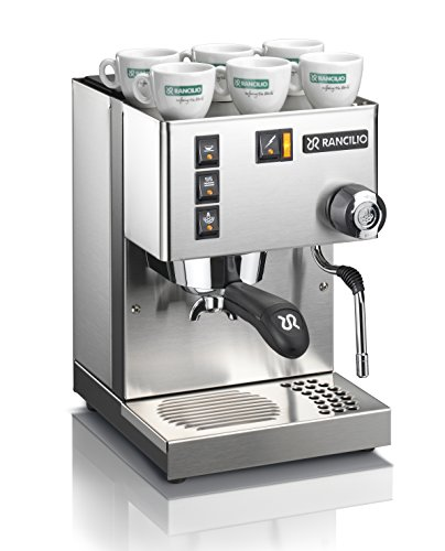 Rancilio Silvia Espresso Machine with Iron Frame and Stainless Steel Side Panels, 11.4 by 13.4-Inch (Single Espresso Machine compare prices)