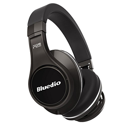 Bluedio U (UFO) PPS 8 Drivers Over-ear Bluetooth Wireless Headphone with Mic(Titanium)