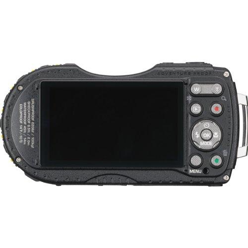 PENTAX 防水デジタルカメラ PENTAX WG-3GPS グリーン 1cmマクロ マクロスタンド付属 電子コンパス サブLCD Qi規格 PENTAX WG-3GPSGR