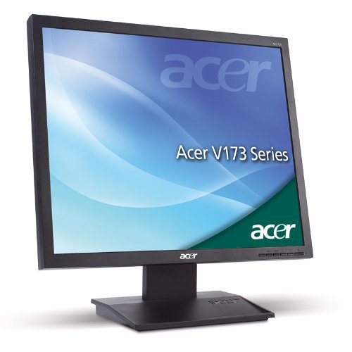 Acer V173DB 17 inch SXGA TFT LCD Monitor (20000:1,250cd/m2,1280 x 1024,5ms,VGA) - Black