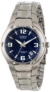 Casio Men's EF106D-2AV Edifice 10-Year-Battery Analog Bracelet Watch
