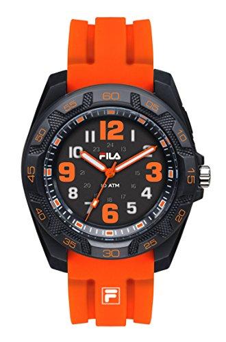 Fila unisex reloj de pulsera analógico cuarzo 38-099-004filastyle Naranja