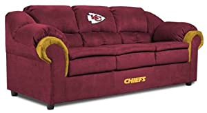NFL Kansas City Chiefs First Team Microfiber Sofa by Imperial