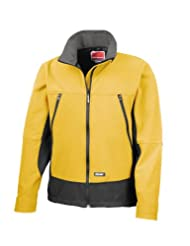 Result R120X Softshell Activity Jacket Sport Yellow/Black 2XL