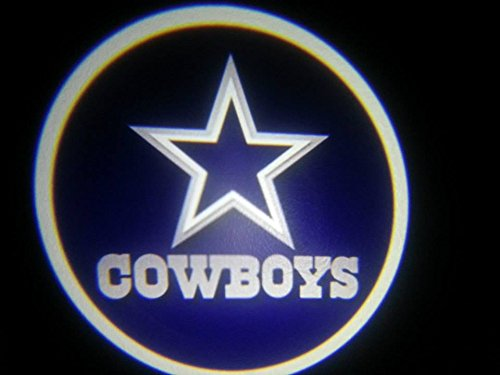 Cowboys Ghost Door Logo Projector Shadow Puddle Laser Led Lights 7w (Qty 2) FROM USA (Dub Spinners Wheels compare prices)