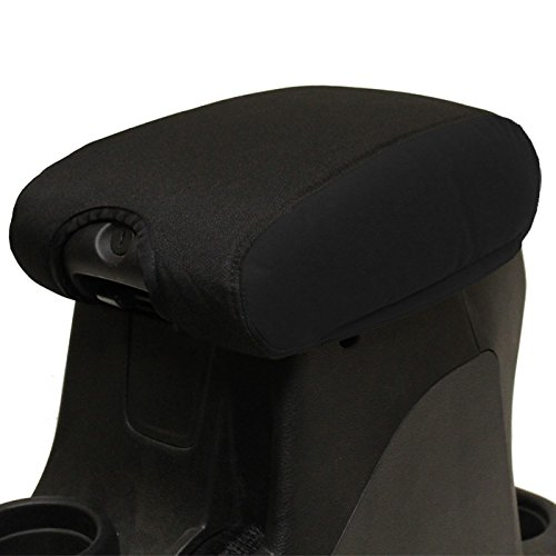 Bartact 2011-2017 Jeep Wrangler JK center Console armrest pad Cover (Jeep Jk Seat Covers Camo compare prices)