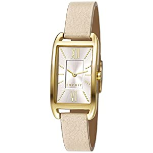 Esprit Damen-Armbanduhr Analog Quarz Leder ES107112006