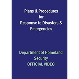 Plans & Procedures for Response to Disasters & Emergencies