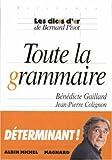 """Afficher """"Toute la grammaire"""""""