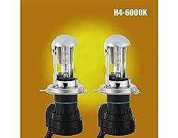 See Generic Auto Car AC 12V 35W H4-6000K Ballast HID Xenon High/Low Beam Bulb Conversion Kit Details