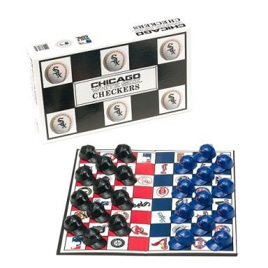 Chicago White Sox vs. Chicago Cubs MLB Team Checkers Game at Amazon.com