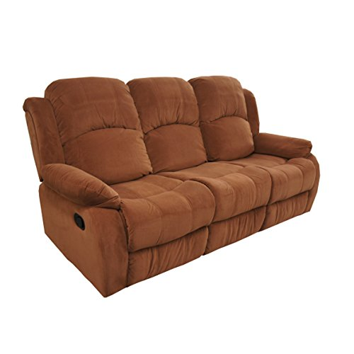 Classic And Traditional Brush Microfiber Recliner Chair