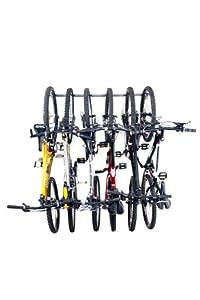 Monkey Bars Wall Bike Storage Rack (Holds 6 Bikes) by Monkey Bar