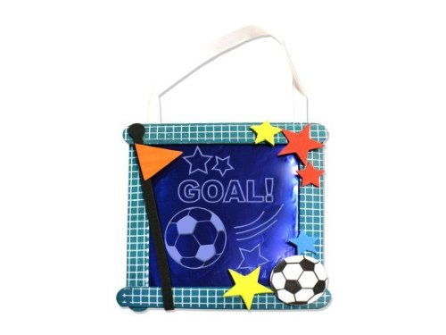 Soccer Banner Craft Kit – Case of 96 by bulk buys günstig bestellen