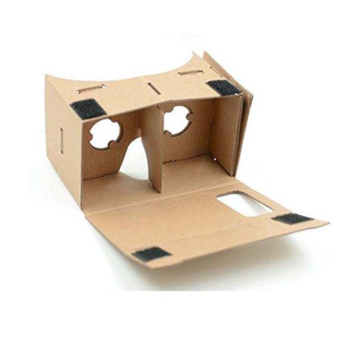 DIY Cardboard Quality 3D VR Virtual Realiy Glasses