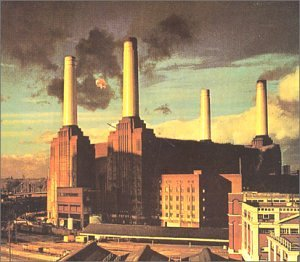 Original album cover of Animals by Pink Floyd