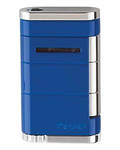 XiKAR Allume Single Torch Flame Cigar and Cigarette Lighter Reef Blue Lifetime Warranty