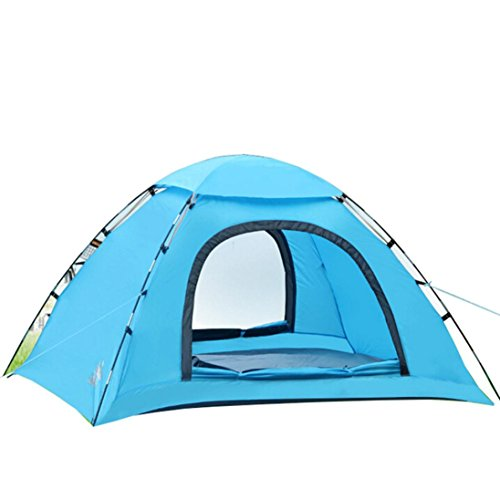 Iuhan® Fashion Camping/Outdoor 1-2 Person Double-layer Waterproof Camping HikingTent (blue) (Quest 6 Person Instant Tent compare prices)