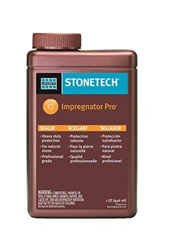 StoneTech Impregnator Pro, Heavy Duty Sealer for Natural Stone, 1-Quart (.946L) (Heavy Duty Sealer compare prices)