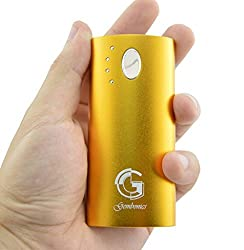 Gembonics 5600mAh Best Portable External Backup Battery Charger Power Bank for iPhone 5 5S 5c 4S, iPod Touch, iPad 2,3,4, Mini, Air, Samsung Galaxy S4 S3 S2, Note 3, Google Nexus 4, HTC One, Nokia Lumia 520, 1020, most most Cell Phone including Apple, And