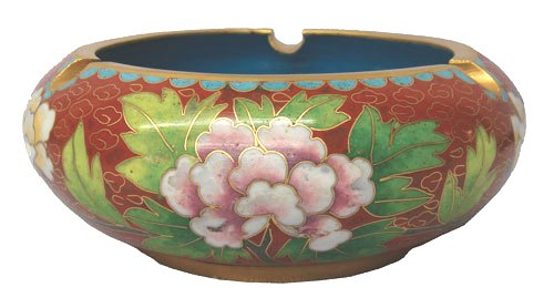 Chinese cloisonne ashtray - 5D ashtray