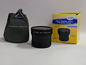 Sakar 22x Super Wide Fisheye Lens 55mm Camera