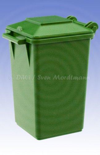 Bruder 42639 Mülltonne grün Maßstab 1:16