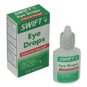 Eye Drops, Industrial Strength, 0.5 oz.