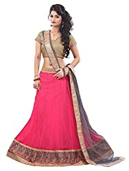 Krishna Emporia Women's Pink Designer Lehenga Choli