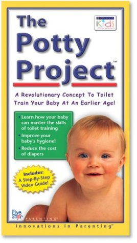The Potty Project: A Revolutionary Concept To Toilet Train Your Baby At An Earlier Age [Vhs] front-1045647